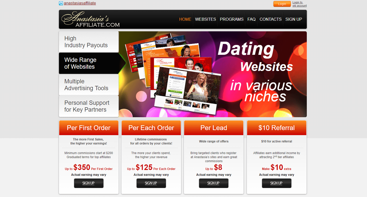 dating affiliates programs Nextlove was founded in 2014 to provide a dating platform for love revenue is an affiliate program which promotes brands such as affiliates@loverevenuecom.