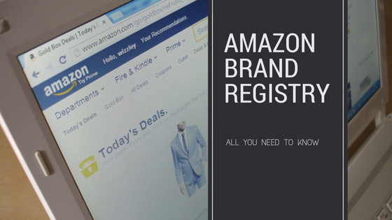 Amazon brand registry header
