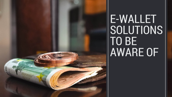 e-wallet solutions you should be aware header