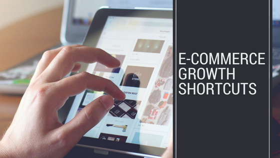 ecommerce growth shortcuts header