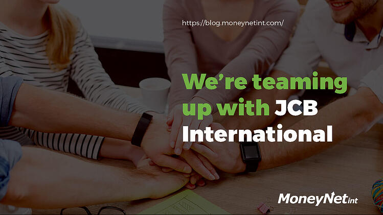 JCB International MoneyNetInt partnership