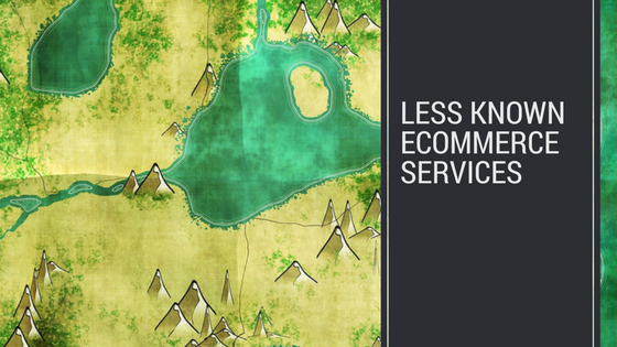 less known ecommerce services header