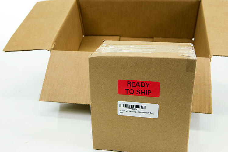 ready to ship label