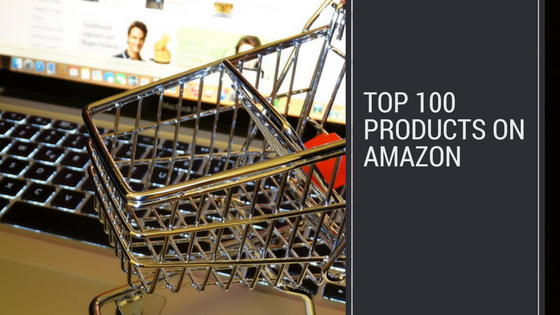top 100 products on amazon header