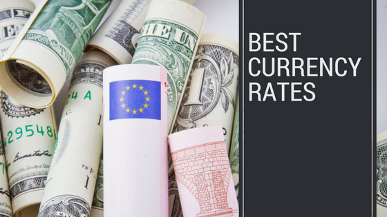 Best currency rates for ecommerce header